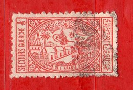 (Us.3) ARABIA SAUDITA °- 1949 - Bienfaisance. Ospedale. 1/8 .Yvert. 4 . Usato.  Vedi Descrizione - Arabia Saudita