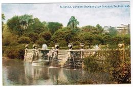 London, Kensington Gardens, The Fountains (pk55899) - London Suburbs