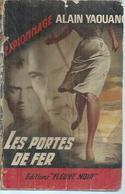 """FLEUVE NOIR ESPIONNAGE  - N° 365  """" LES PORTES DE FER """" - ALAIN YAOUANC - Fleuve Noir"""