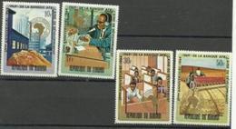 Burundi - 1969 Atrican Development Bank MH*  SG 451-4  Sc 288-91 - Burundi