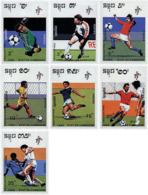 Ref. 68087 * NEW *  - CAMBODIA . 1990. FOOTBALL WORLD CUP. ITALY-90. COPA DEL MUNDO DE FUTBOL. ITALIA-90 - Cambogia