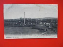MONTCEAU Les MINES - Port &  Vue Générale - Voyagé En 1906 - Montceau Les Mines