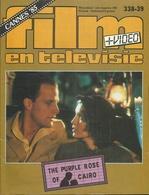 FILM EN TELEVISIE Nr. 338-339 - 1985 - CANNES '85 - THE PURPLE ROSE OF CAIRO - Cinema & Television