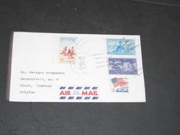 COURRIER MARISSA USA 1963 - AIR MAIL - Estados Unidos