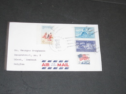 COURRIER MARISSA USA 1963 - AIR MAIL - Etats-Unis