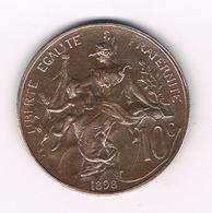 10 CENTIMES 1898 FRANKRIJK /2968/ - Frankreich