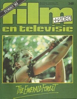 FILM EN TELEVISIE Nr. 340 - 1985 - TOKIO '85 - THE EMERALD FOREST - Cinema & Television