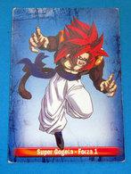 SUPER GOGETA DRAGON BALL PANINI CARD - Dragonball Z