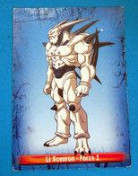 LI SCENRON DRAGON BALL PANINI CARD - Dragonball Z