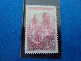 """1950-1959-timbre Oblitéré N° 1127    """" Cathédrale De Rouen""""       0.15    Photo  3 - Oblitérés"""