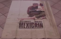 AFFICHE CINEMA ORIGINALE FILM LE MEXICAIN Brad PITT Julia ROBERTS 2001 - Affiches & Posters