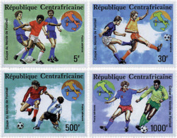 Ref. 70457 * NEW *  - CENTRAL AFRICAN REPUBLIC . 1990. FOOTBALL WORLD CUP. ITALY-90. COPA DEL MUNDO DE FUTBOL. ITALIA-90 - Zentralafrik. Republik