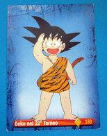 GOKU NEL 22° TORNEO DRAGON BALL PANINI CARD - Dragonball Z