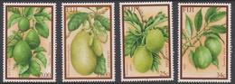 Fiji SG 1162-1165 2002 Fruits, Mint Never Hinged - Fiji (1970-...)