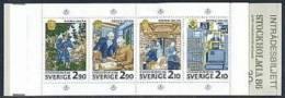 ZWEDEN 1986 Postzegelboekje Stockholmia 86 V PF-MNH-NEUF - Carnets