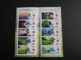 België Belgium 2018 - Smurfen 60 Jaar / Schtroumpfs / Comic Strip Smurfs 60th Anniversary Special Edition - Belgium