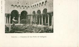 Gerona  Claustros De San Pedro De Galligans  Cpa - Gerona
