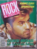 Rock & Folk N°252 (mai 1988) Johnny Clegg - Springsteen - George Michael - Poster Talking Heads - Maxi Rock - Musique