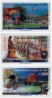 Ref. 51379 * NEW *  - CHILE . 1999. 150 ANIVERSARIO DE LA UNIVERSIDAD DE SANTIAGO DE CHILE - Chile