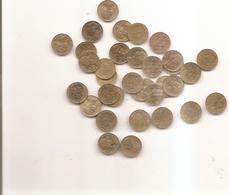 34 Pieces De 5 Centimes Marianne Voir Detail En Dessous - C. 5 Centimes