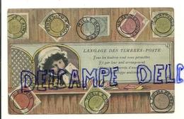 Le Langage Des Timbres-poste. 1901 - Timbres (représentations)