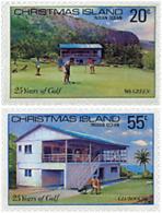 Ref. 45970 * NEW *  - CHRISTMAS Islands . 1980. 25th ANNIVERSARY OF ISLAND GOLF CLUB. 25 ANIVERSARIO DEL CLUB DE GOLF DE - Christmas Island