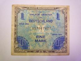 2019 - 1090  In Umlauf Gesetzt In DEUTSCHLAND  BILLET De  EINE MARK   XXX - [ 5] 1945-1949 : Allies Occupation