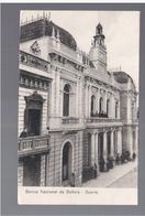 BOLIVIA Banco National De Bolivia- Sucre Ca 1920 OLD POSTCARD - Bolivia