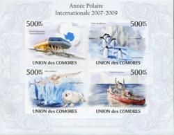 Ref. 368395 * NEW *  - COMORO Islands . 2009. A�O POLAR INTERNACIONAL 2007-2009 - Comores (1975-...)
