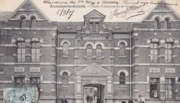 62 / AVESNES LE COMTE / ECOLE COMMUNALE DE GARCONS / JOLIE CARTE 1907 - Avesnes Le Comte