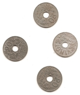 3 Pieces De 20 Centimes Etat Francais 1941/42/43 PLUS Vingt Centimes 1941 - E. 20 Centimes