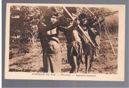 BOLIVIA Amerique Du Sud Pilcomayo Apprentis Chasseurs Ca 1920 OLD POSTCARD - Bolivia