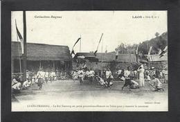 CPA Laos Asie Non Circulé Indochine Le Roi Royalty Luang Prabang - Laos