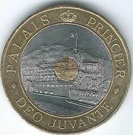 Monaco - 1997 - 20 Francs - Rainier III - Prince's Palace - KM165 (Tri-metallic) - Monaco