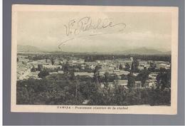 BOLIVIA Tarija- Panorama Centrico De La Ciudad Ca 1920 OLD POSTCARD - Bolivia