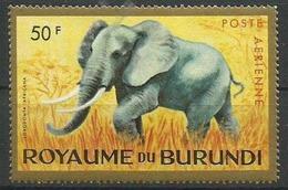 Burundi - 1964 African Elephant  50f MLH *   SG 98  Sc C7 - Burundi