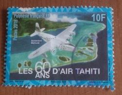 Les 60 Ans D'air Tahiti (Avion) - Polynésie Française - 2018 - Polynésie Française