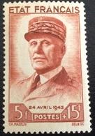 N° 580  NEUF ** SANS CHARNIÈRE ( LOT:324 ) - 1941-42 Pétain