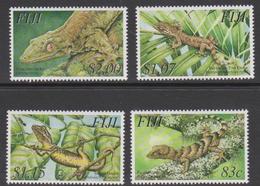 Fiji SG 1204-1207 2003 Geckos, Mint Never Hinged - Fiji (1970-...)