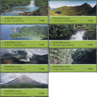 Ref. 368877 * NEW *  - COSTA RICA . 2009. NATIONAL PARKS. PARQUES NACIONALES - Costa Rica