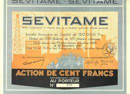 SEVITAME S. A., 1937 – TOP! (Art Déco) - Automovilismo