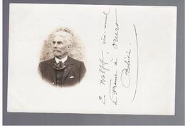 BOLIVIA Oruro, E. Wolff -vice Cosul De France 1909 PHOTO OLD POSTCARD Rare - Bolivia