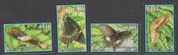 Fiji SG 1243-46 2004 Butterflies, Mint Never Hinged - Fiji (1970-...)