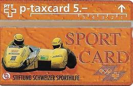 PTT-p: KP-93/56T 521L Stiftung Schweizer Sporthilfe - Seitenwagenrennen - Svizzera