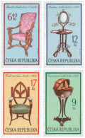 Ref. 114018 * NEW *  - CZECH REPUBLIC . 2002. ANCIENT FURNITURE. MUEBLES ANTIGUOS - República Checa