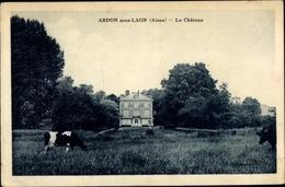 Cp Ardon Sous Laon Aisne, Le Château - France