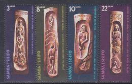 Samoa N° 284 / 87 XX Légendes Et Mythes ( I ),  Les 4 Valeurs Sans Charnière, TB - Samoa