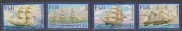 Fiji SG 1299-1302 2005 Tall Ships, Mint Never Hinged - Fiji (1970-...)