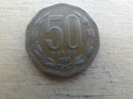 Chili  50  Pesos  1998 Km 219.2 - Chili