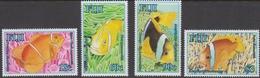 Fiji SG 1338-1341 2006 Anemone Fish, Mint Never Hinged - Fiji (1970-...)